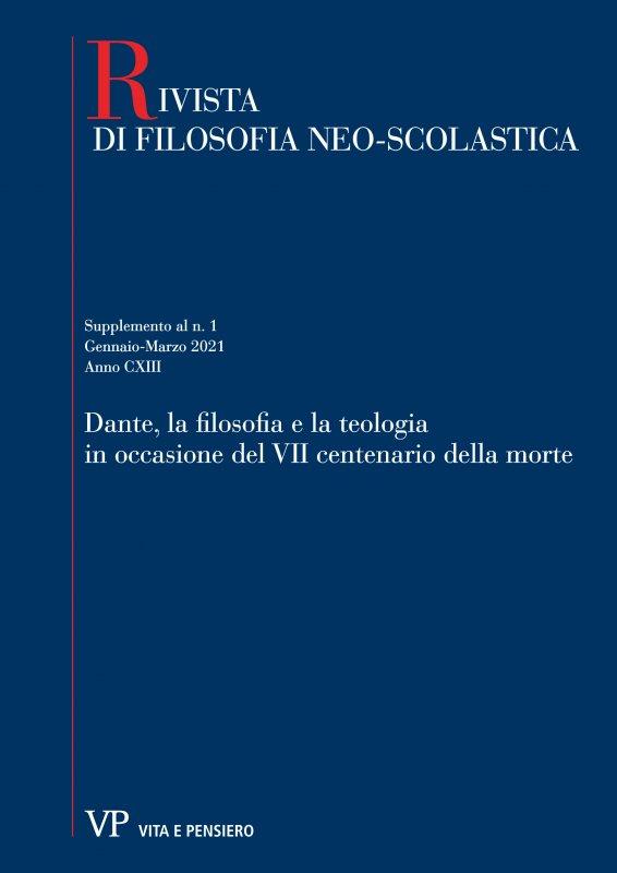 Gli studi sul pensiero di Dante nella «Rivista di Filosofia Neo-Scolastica»