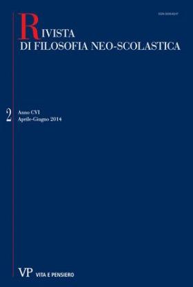 RIVISTA DI FILOSOFIA NEO-SCOLASTICA - 2014 - 2