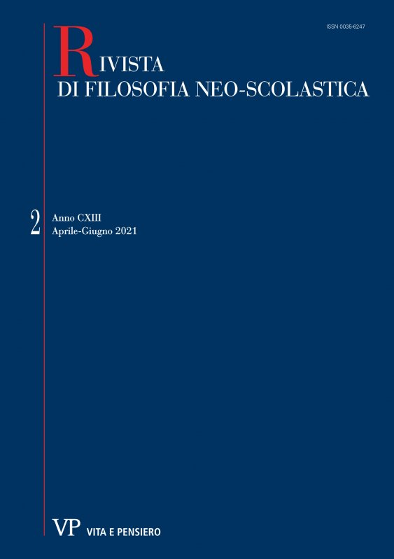 RIVISTA DI FILOSOFIA NEO-SCOLASTICA - 2021 - 2